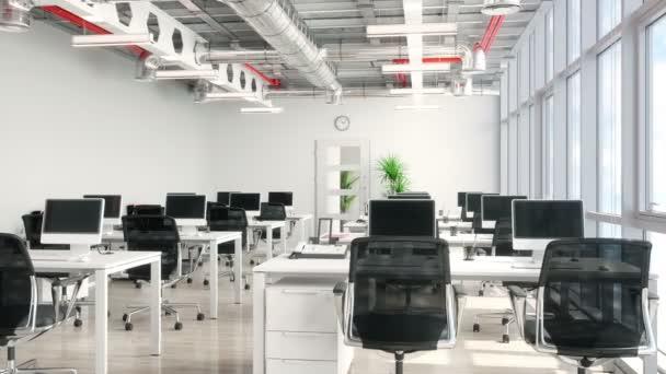 Interiér otevřené kanceláře