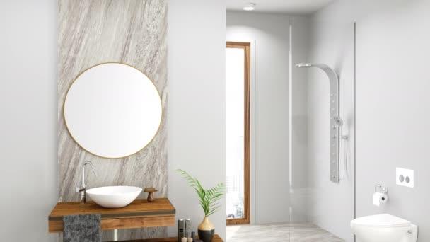 Moderní koupelna video