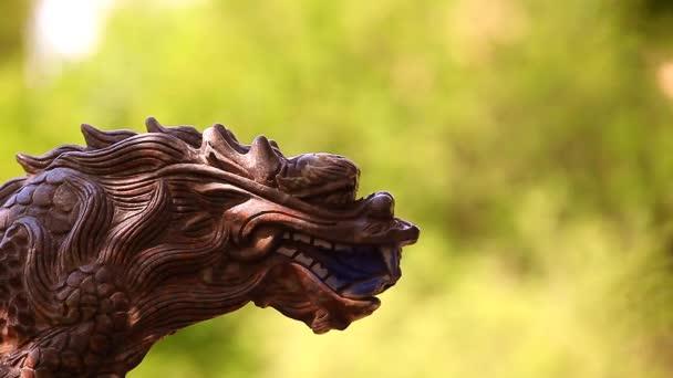Sárkány márvány szobor felvétel