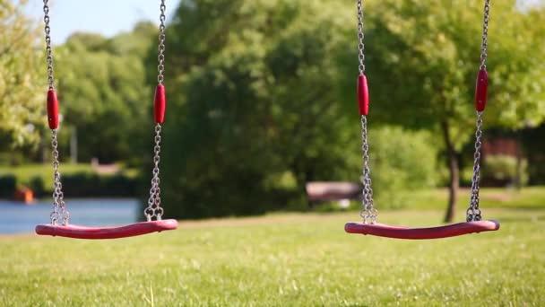 children Playground swings park