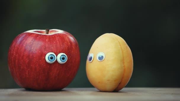 Apple Meruňka oči lavičky zahradní