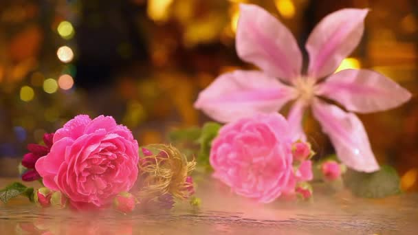 sklo kouřové květiny studio vody klesne květiny
