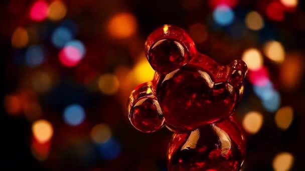 Červená myš studio Moskva Rusko 25 září 2018 hd záběry