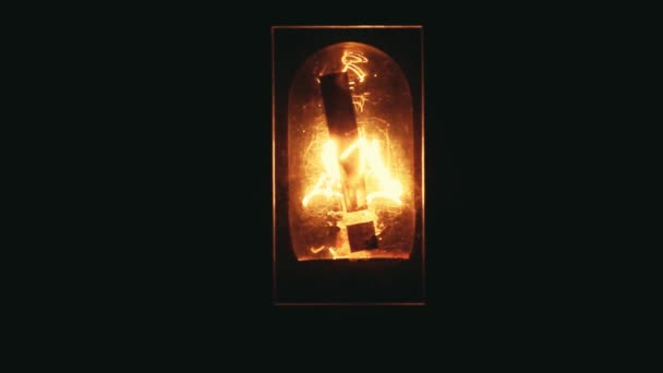 Izzó felkiáltójel szimbólum hd felvétel