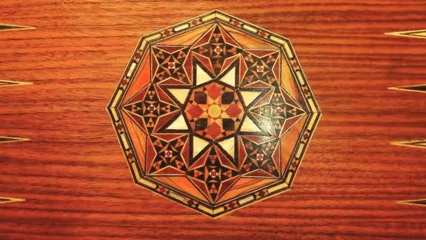 fa Mandala backgammon háttér hd felvétel