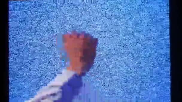 törött TV férfi kéz háttér HD felvételeket