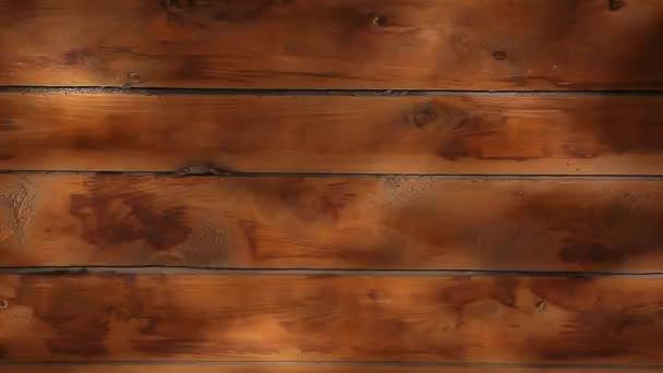 vodní vlna odraz v dřevěné stěně
