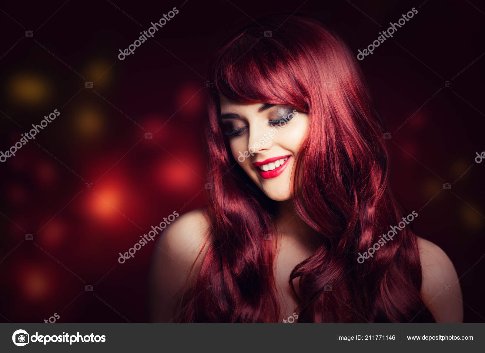 Miraculous Redhead Curly Hairstyles Redhead Woman Long Red Curly Hairstyle Schematic Wiring Diagrams Amerangerunnerswayorg