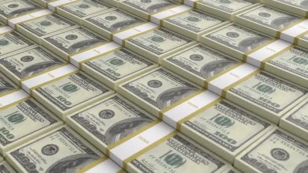 Bündel amerikanischer 100-Dollar-Scheine
