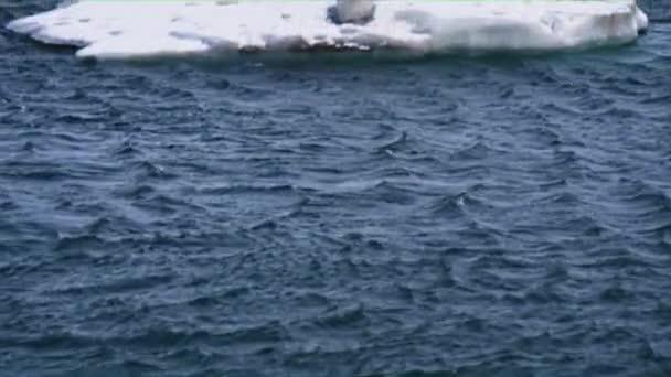 Luftaufnahme des schwebenden Gletschers