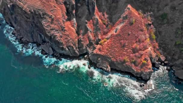 Cliffs of an island