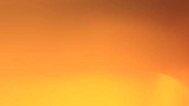 Rozmazané pozadí měkké žluté oranžové video