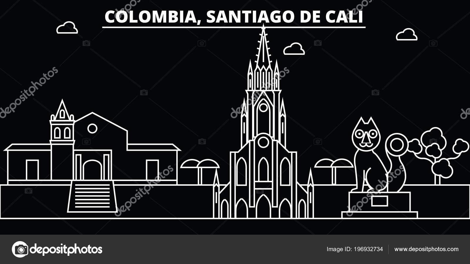 Cali Colombia Wallpaper Santiago De Cali Skyline Colombia