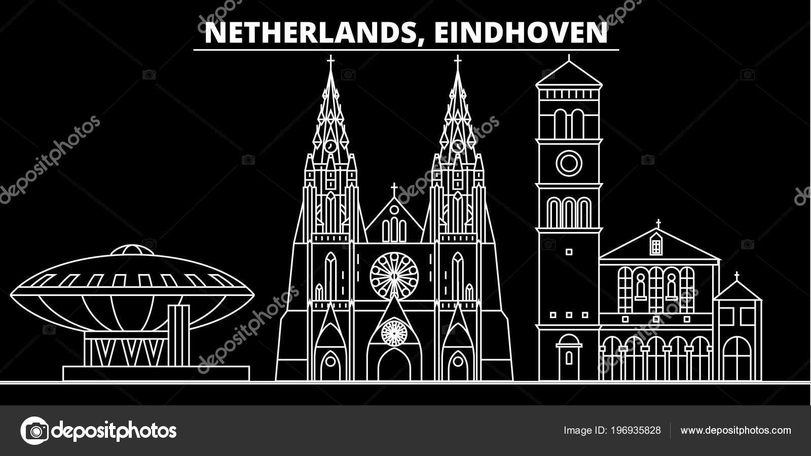 Horizonte de silhueta de eindhoven pa ses baixos cidade for Arquitectura holandesa