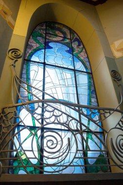 Moscow, Russia - February 16, 2019 - Ryabushinsky Mansion Maxim Gorky House-Museum