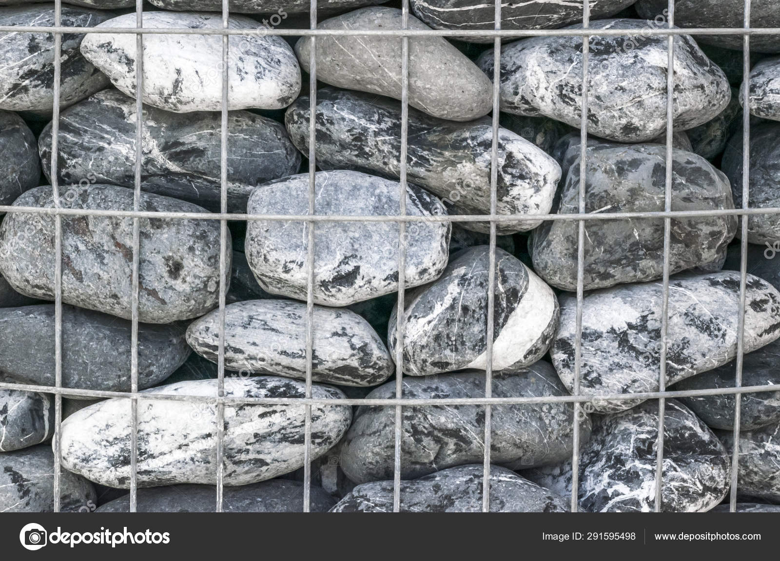 Gray And White Large Stone Pile Background Natural