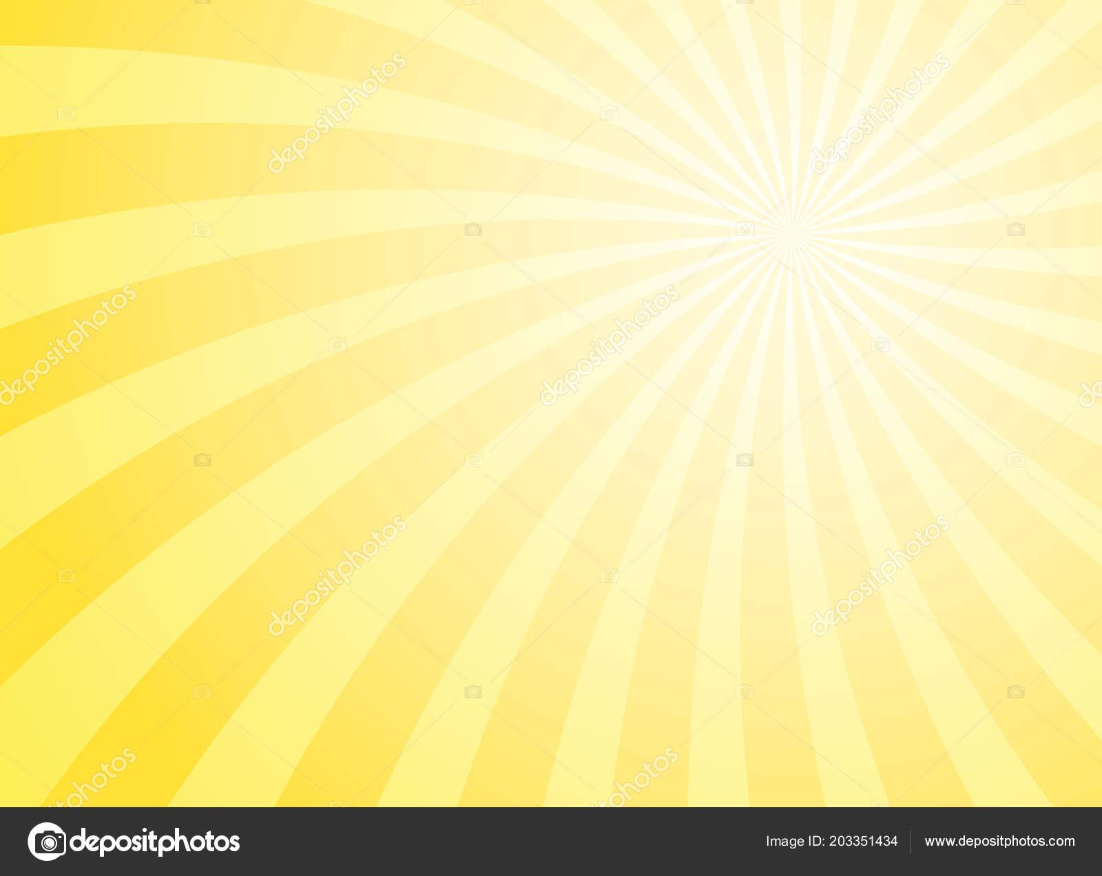2c42b7e94d938 Summer sunlight background. Bright yellow color burst background. Vector  illustration. Sun beam ray sunburst pattern background. Retro bright  backdrop.