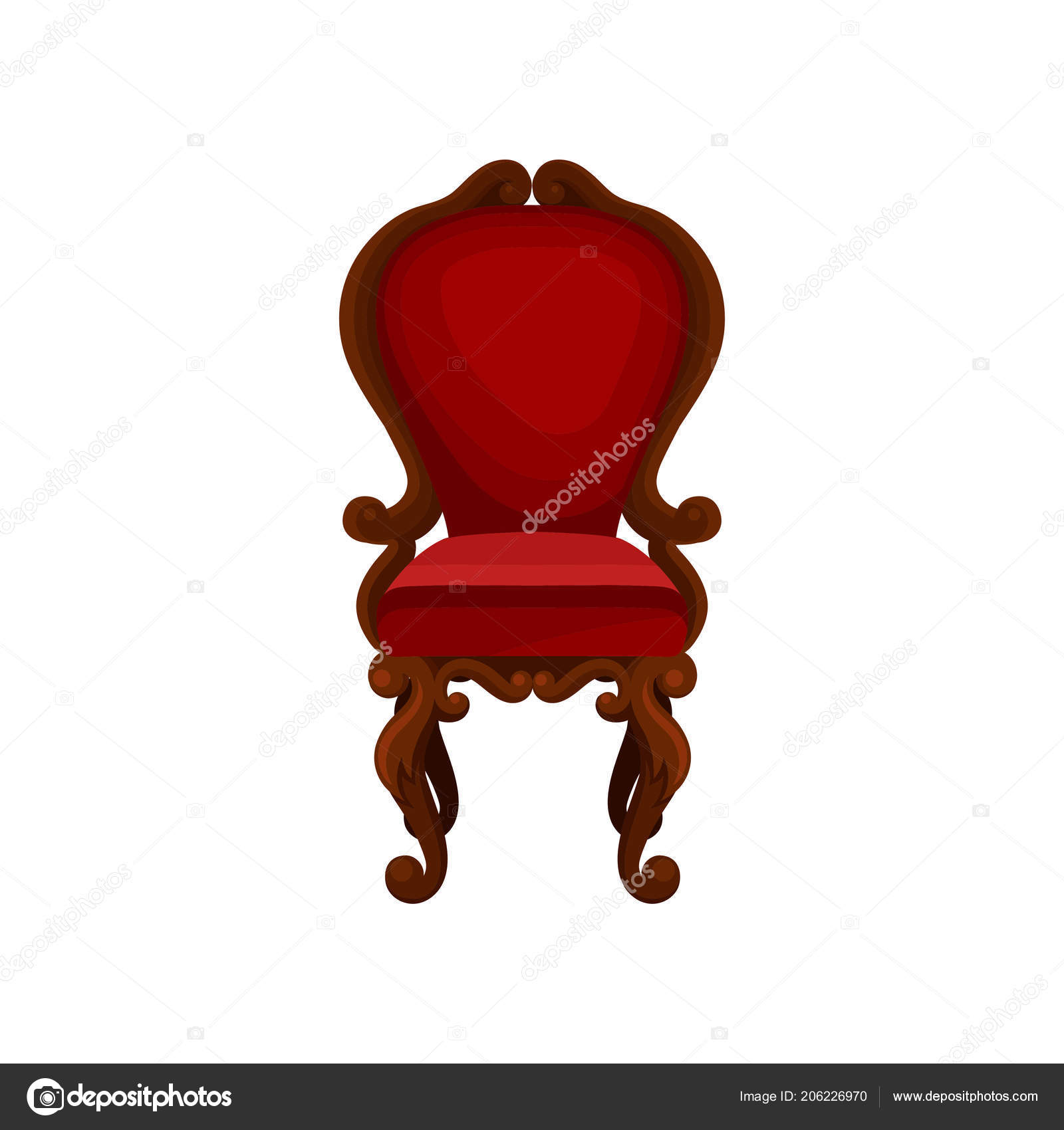 Astonishing Luxury Armchair For Home Interior Wooden Chair With Red Uwap Interior Chair Design Uwaporg