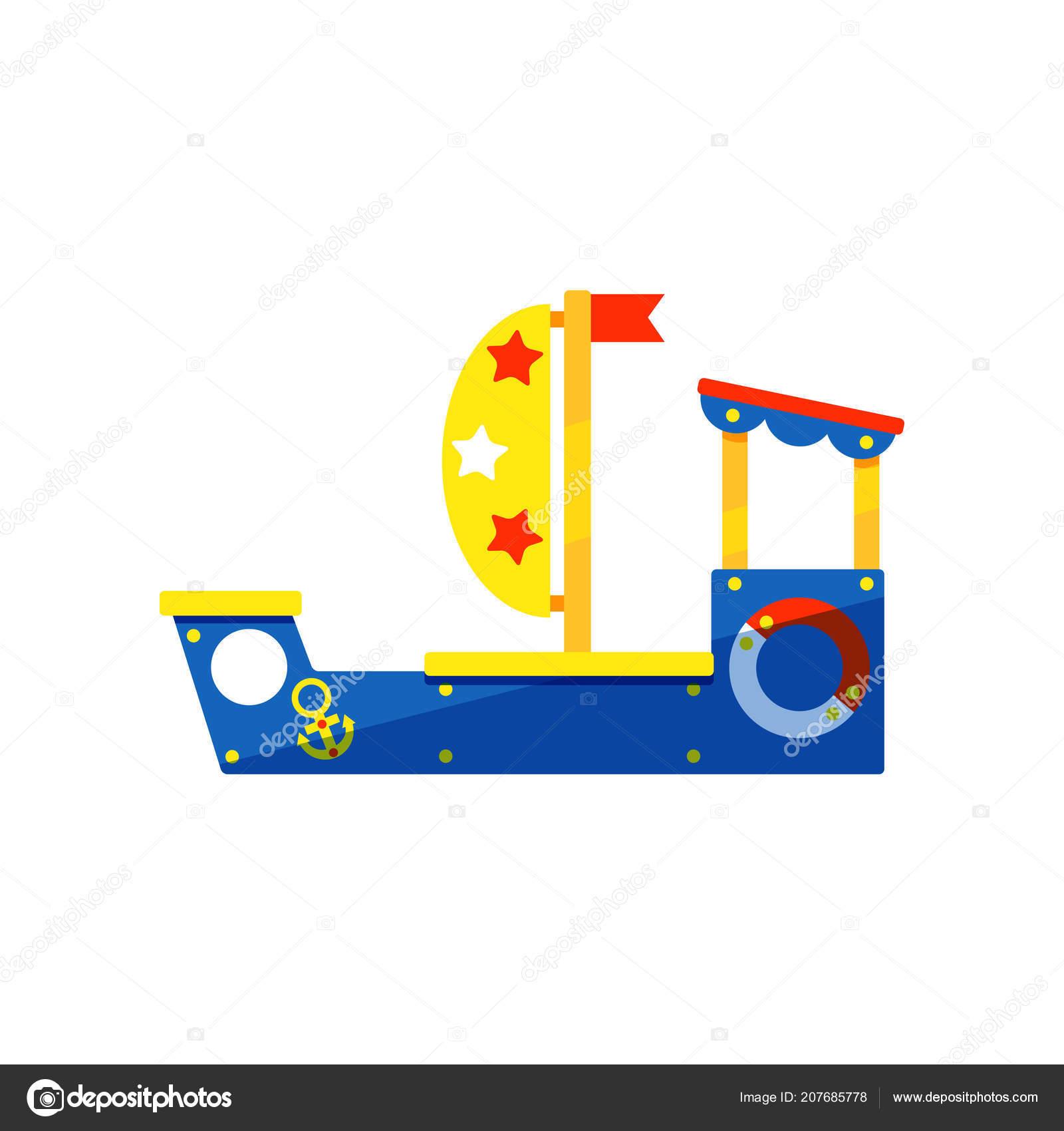 Nave De Colorido Para Juegos Infantiles Ninos Zona De Juegos