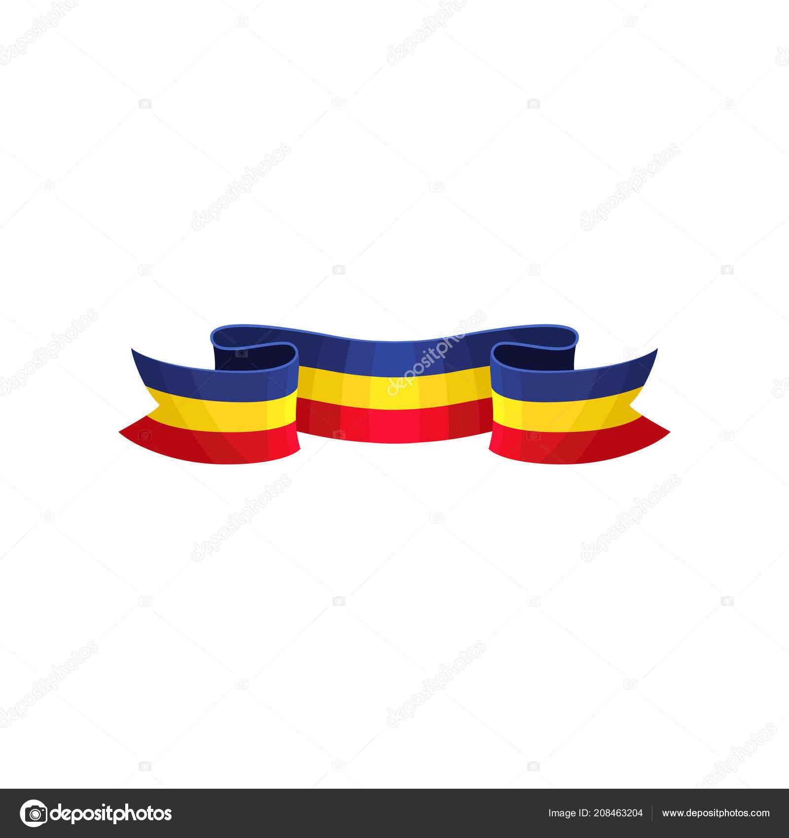 Bandera color rojo azul y amarillo