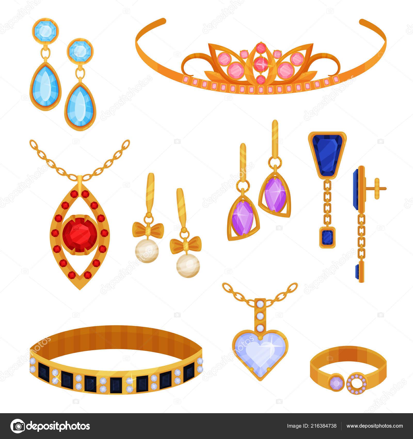 91cea8eee15e Conjunto Hermosas Joyas Oro Moda Tiara Collar Pulsera Cadena Oro ...