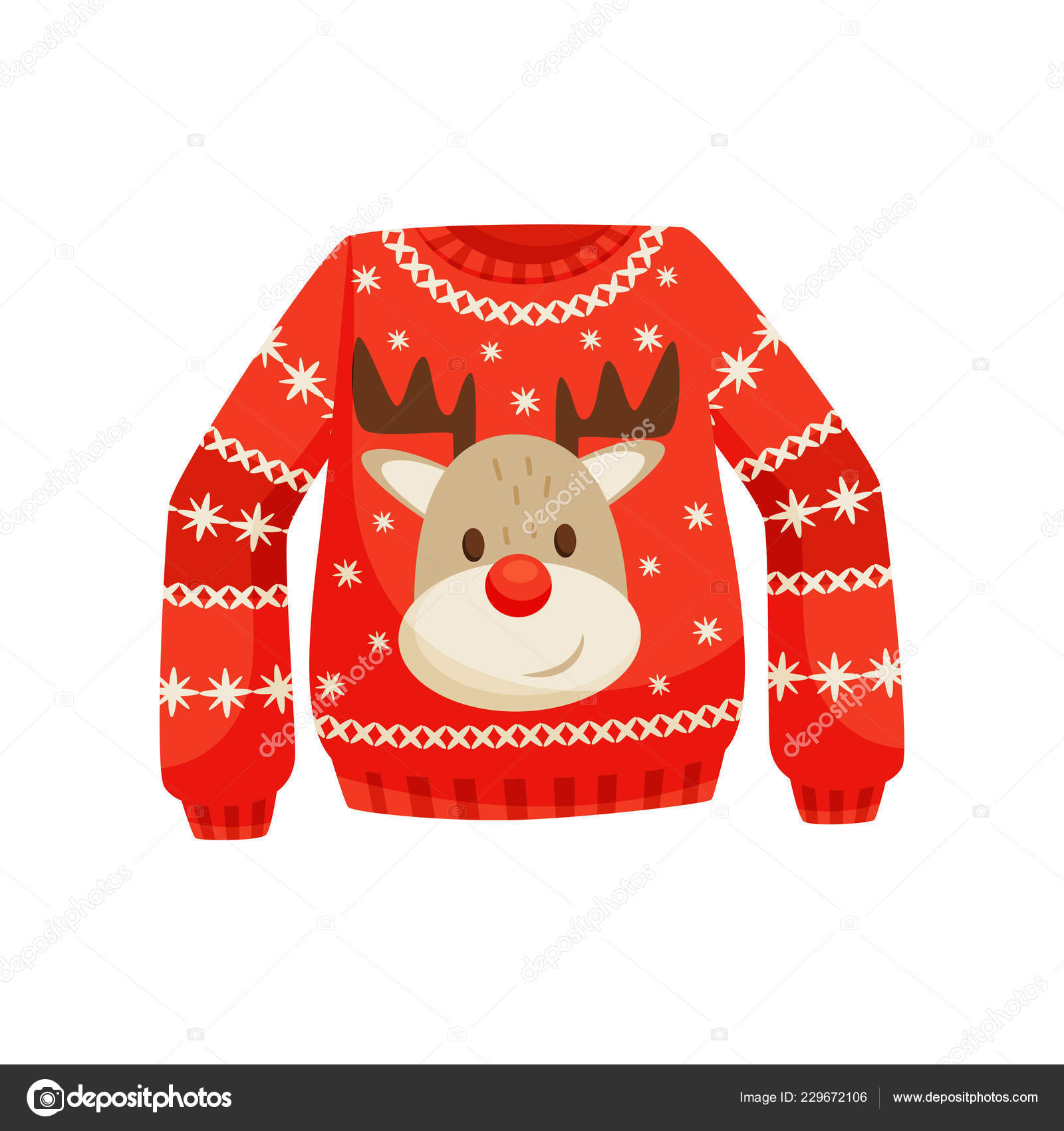57ba0175d762 Red Christmas sweater