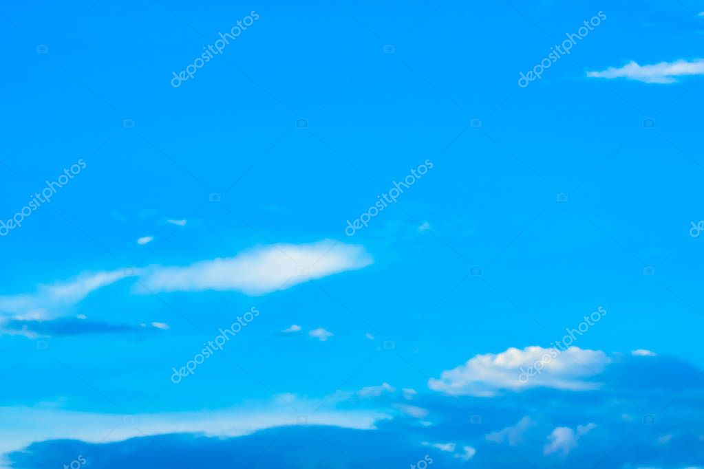 Blue sky and clouds for all designs of mobile phone cover.