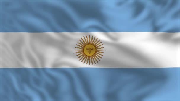 Flag of Argentina - Waving Flag Animation