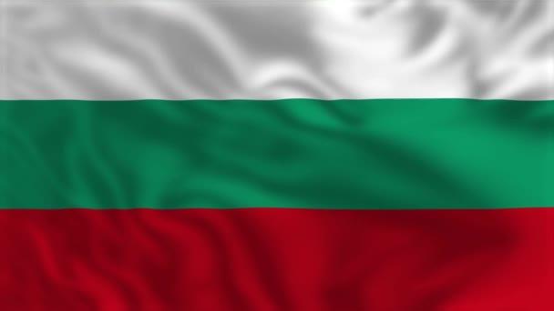 Flag of Bulgaria - Waving Flag Animation