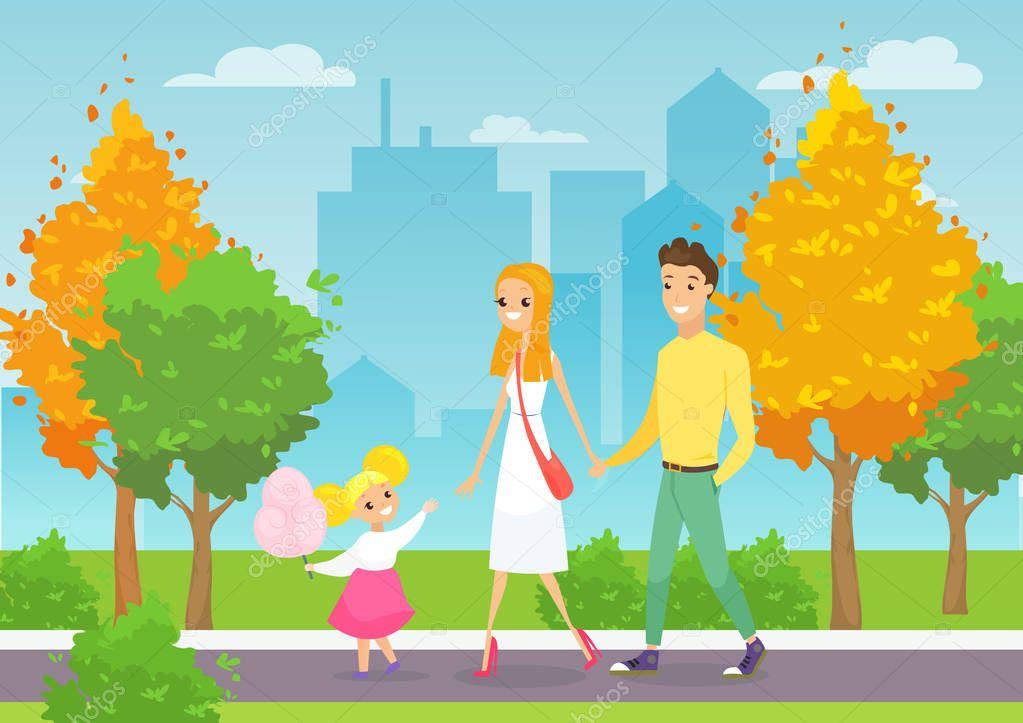 Картинки для детей прогулка с родителями
