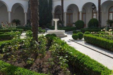 Yalta, Crimea-may 30, 2016: Architecture and interior design of the Livadia Palace.