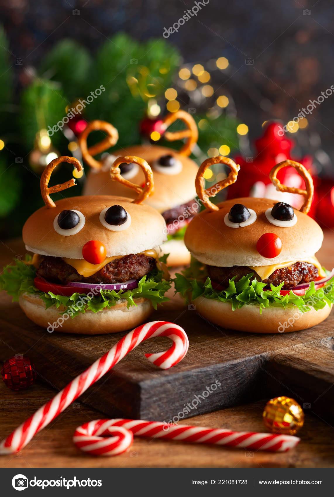 Children Christmas Party Ideas.Christmas Party Idea Kids Christmas Burger Reindeer Sloppy