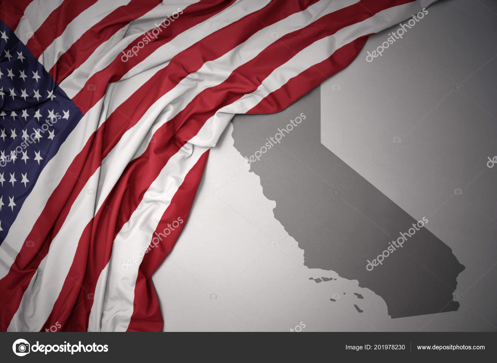 Waving Colorful National Flag United States America Gray ... on gray italy map, gray russia map, gray global map, gray poland map, gray world map, gray europe map, gray belgium map, gray puerto rico map, gray canada map, gray indonesia map, gray mexico map, gray asia map,