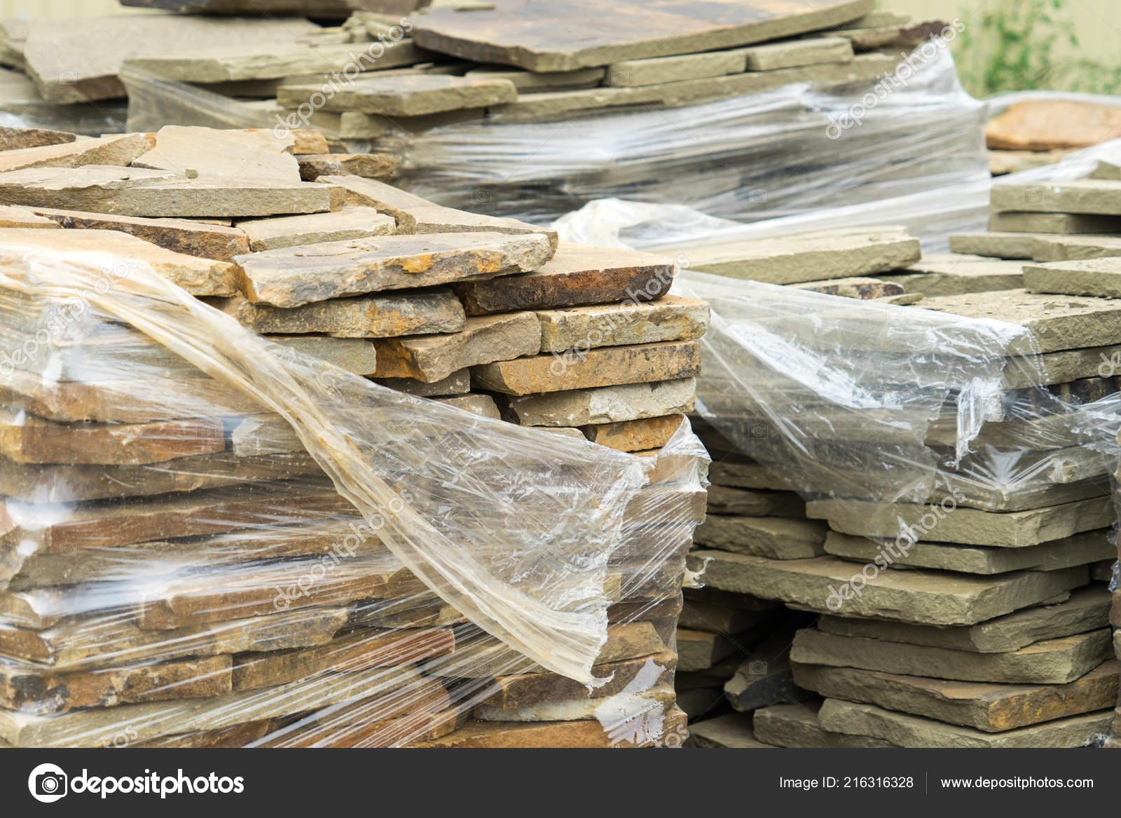 a20b49c7025f Πώληση Από Φυσική Πέτρα Για Την Επένδυση Και Την Κατασκευή — Φωτογραφία  Αρχείου
