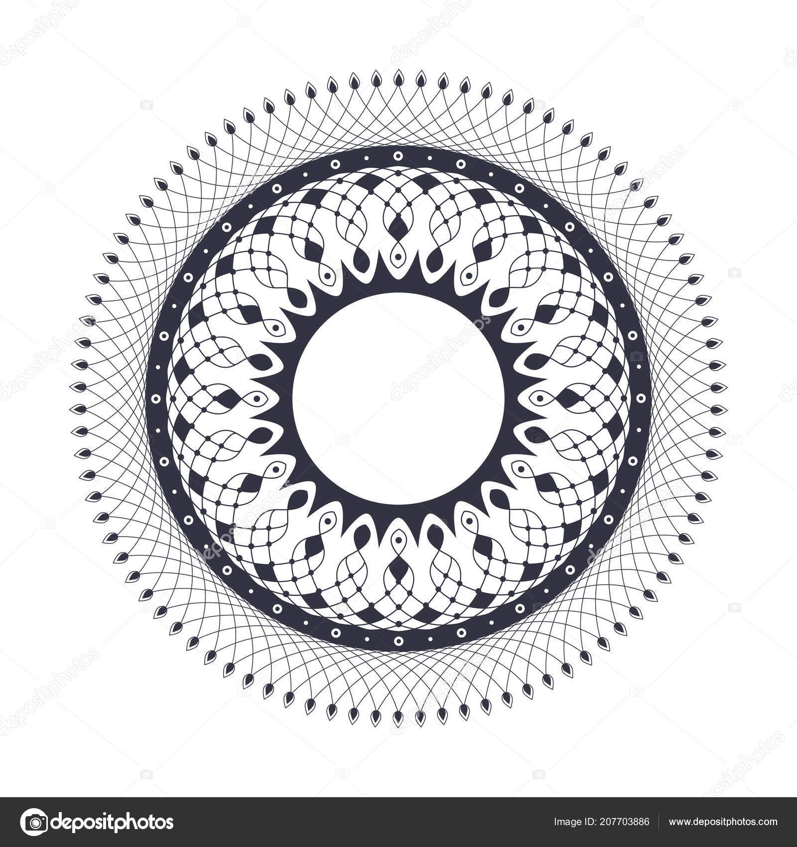 decorative frame design floral ornament template printing postcards
