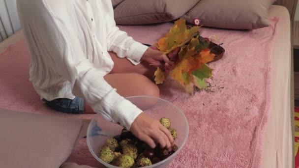 Aby žena od podzimu leafs složení