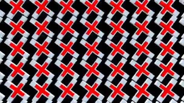 Absztrakt háttér, piros, fekete és fehér színben