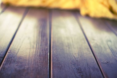 Empty space on the desktop. Old Natural Wooden Shabby Background Toning