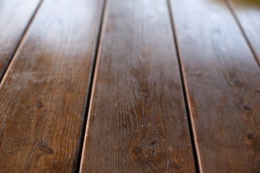 Empty space on the desktop. Old Natural Wooden Shabby Background