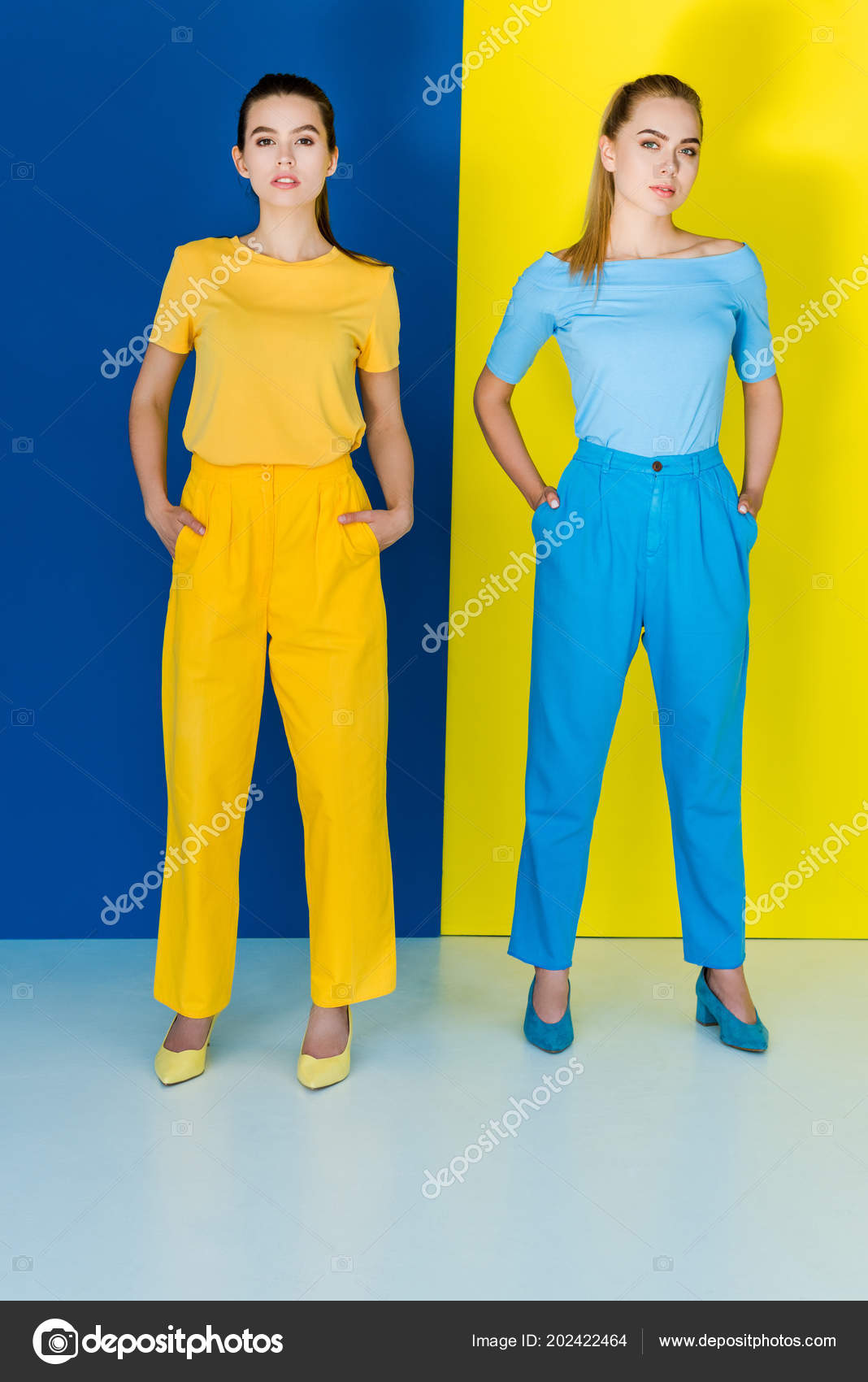22+ Blue And Yellow Outfit  Images