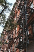 low angle view of old building in new york city, usa