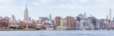 panoramic view of new york city, usa