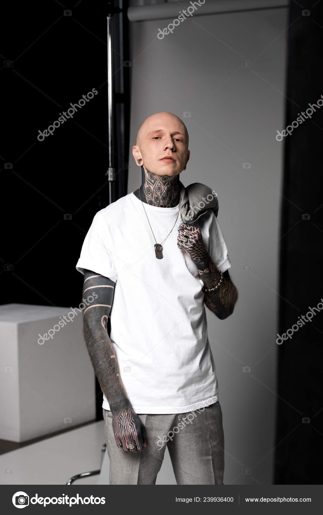 Men with tattoos bald 17 Head