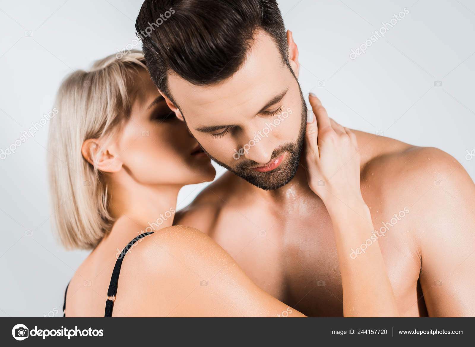 Kisses neck boyfriend my my 12 Kissing