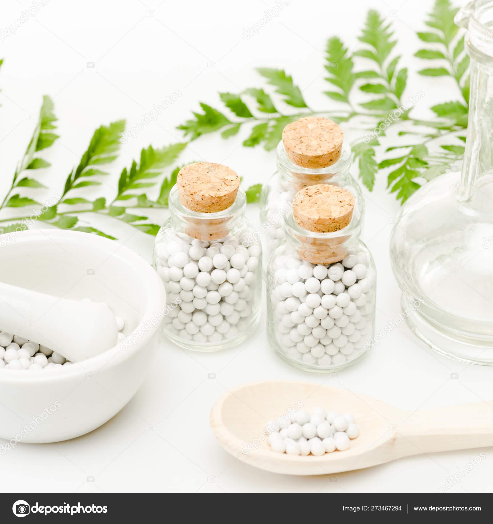 Glass Bottles Small Pills Mortar Pestle Wooden Spoon Jar Green