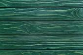 vrchní pohled na dřevěné zelené pozadí