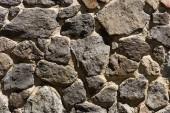 celý rám obrazu pozadí kamenné zdi