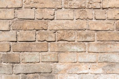 brown aged weathered brick wall background