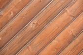 Fotografie close-up view of brown wooden background with hardwood planks