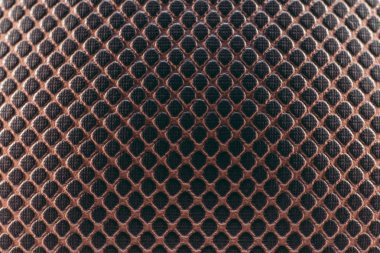 close up of brown leather basketball ball texture
